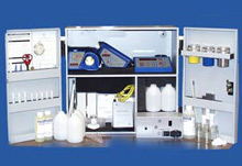 Oil quality test equipment